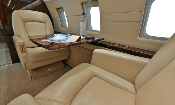 Private luxurious Jet